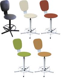Лабораторная мебель, производитель лабораторной мебели, стулья лабораторные, медицинская лабораторная мебель, стул лабораторный винтовой М101-04