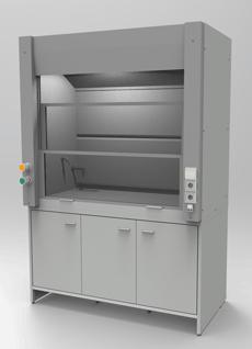 Вытяжной шкаф 1500 мм, серия NordLine - СпецЛабМебель