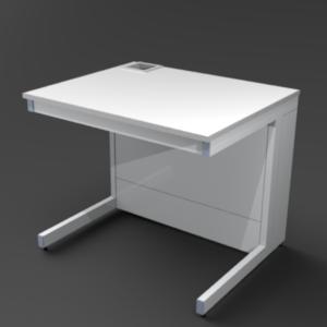 Стол пристенный 900 со сливной раковиной. NordStyle