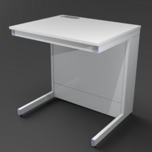 Стол пристенный 900 со сливной раковиной. Серия NordStyle