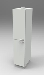 Шкаф лабораторный для химреактивов 400, лев.двери. Серия NordStyle.