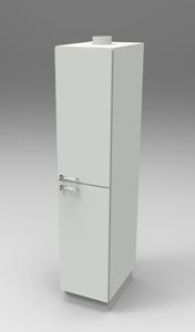 Шкаф лабораторный для химреактивов 400, прав.двери. Серия NordStyle.