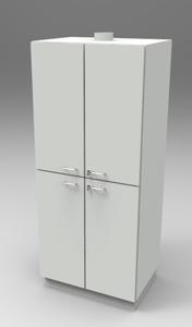 Шкаф лабораторный для химреактивов 800. Серия NordStyle.