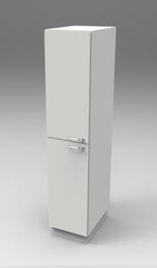 Шкаф лабораторный материальный 400, лев.двери. Серия NordStyle.