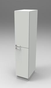 Шкаф лабораторный материальный 400, прав.двери. Серия NordStyle.