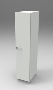Шкаф лабораторный для одежды 400, прав.дверь. Серия NordStyle.