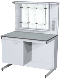Стол лабораторный 1200. Серия NordStyle.